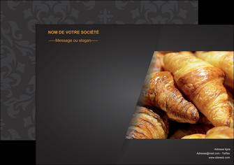 exemple affiche boulangerie maquette boulangerie croissant patisserie MIF33095