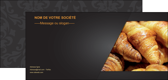 faire flyers boulangerie maquette boulangerie croissant patisserie MIF33105