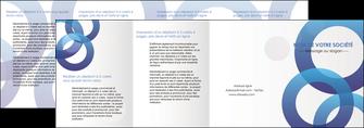 exemple depliant 4 volets  8 pages  texture contexture structure MLGI33139