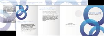 creer modele en ligne depliant 4 volets  8 pages  texture contexture structure MLGI33141