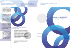 modele depliant 3 volets  6 pages  texture contexture structure MLGI33151
