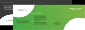 faire modele a imprimer depliant 4 volets  8 pages  texture contexture structure MIF33227