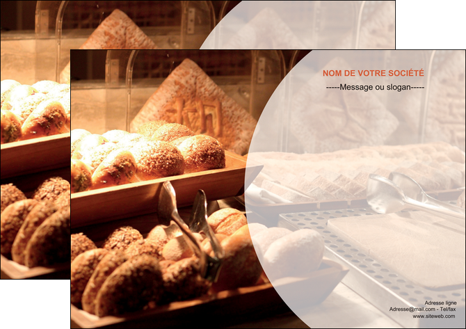 modele en ligne affiche boulangerie pain brioches boulangerie MLGI33263