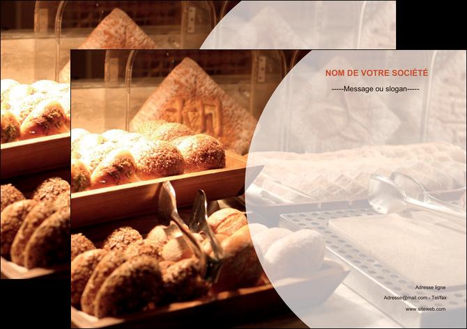 personnaliser modele de affiche boulangerie pain brioches boulangerie MLGI33265