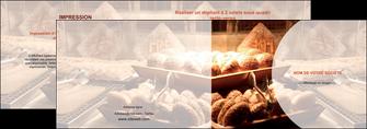 creer modele en ligne depliant 2 volets  4 pages  boulangerie pain brioches boulangerie MLGI33275