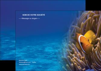 modele en ligne affiche paysage belle photo nemo poisson MLGI33453