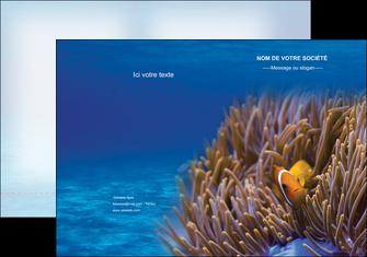 maquette en ligne a personnaliser pochette a rabat paysage belle photo nemo poisson MLGI33463