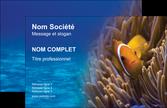 creer modele en ligne carte de visite animal belle photo nemo poisson MLGI33467