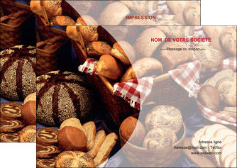 exemple flyers boulangerie pain boulangerie patisserie MIF33525