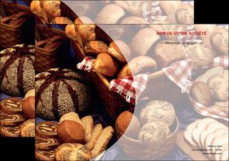 maquette en ligne a personnaliser affiche boulangerie pain boulangerie patisserie MIF33529