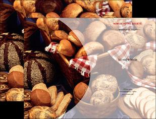 imprimer pochette a rabat boulangerie pain boulangerie patisserie MLGI33539