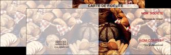 personnaliser modele de carte de visite boulangerie pain boulangerie patisserie MIF33543