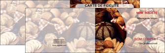 personnaliser modele de carte de visite boulangerie pain boulangerie patisserie MLGI33543