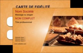 Realiser Carte De Visite Boulangerie Pains Viennoiserie MLGI33653