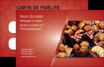Imprimerie Carte De Visite Boulangerie Pain Patisserie MLGI33729