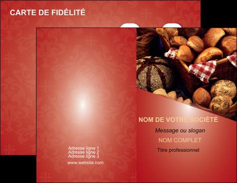 Faire Carte De Visite Boulangerie Pain Patisserie MLGI33731