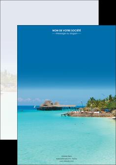 modele en ligne affiche paysage plage vacances tourisme MLGI33801