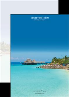faire modele a imprimer affiche paysage plage vacances tourisme MLGI33805