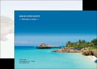 modele en ligne affiche paysage plage vacances tourisme MLGI33835