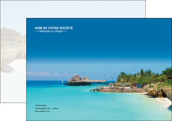 maquette en ligne a personnaliser affiche paysage plage vacances tourisme MLGI33839