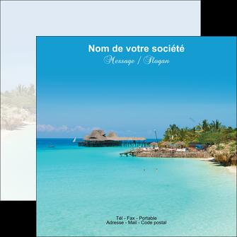 faire flyers paysage plage vacances tourisme MLGI33847