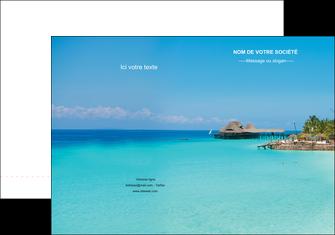 imprimerie pochette a rabat paysage plage vacances tourisme MLGI33849