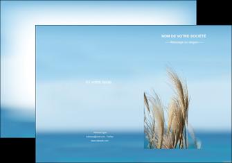 personnaliser maquette pochette a rabat paysage plante nature ciel MLGI33897
