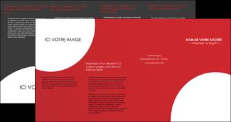 modele en ligne depliant 4 volets  8 pages  texture contexture structure MLGI33921