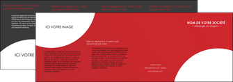realiser depliant 4 volets  8 pages  texture contexture structure MLGI33923
