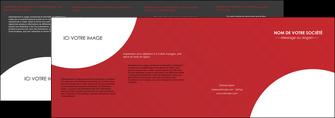 personnaliser modele de depliant 4 volets  8 pages  texture contexture structure MIF33925