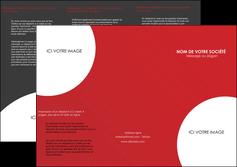 cree depliant 3 volets  6 pages  texture contexture structure MIF33937