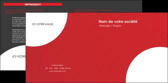 modele en ligne depliant 2 volets  4 pages  texture contexture structure MIF33943
