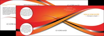 personnaliser modele de depliant 4 volets  8 pages  texture contexture structure MLGI33965