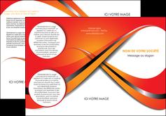 creation graphique en ligne depliant 3 volets  6 pages  texture contexture structure MIF33977