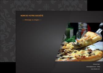 personnaliser maquette affiche pizzeria et restaurant italien pizza pizzeria restaurant italien MLGI34009