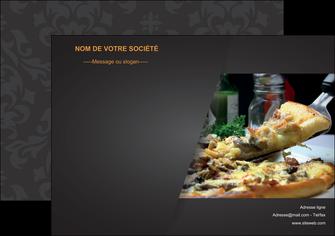 maquette en ligne a personnaliser affiche pizzeria et restaurant italien pizza pizzeria restaurant italien MLGI34013