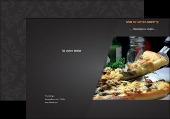 faire modele a imprimer pochette a rabat pizzeria et restaurant italien pizza pizzeria restaurant italien MLGI34023