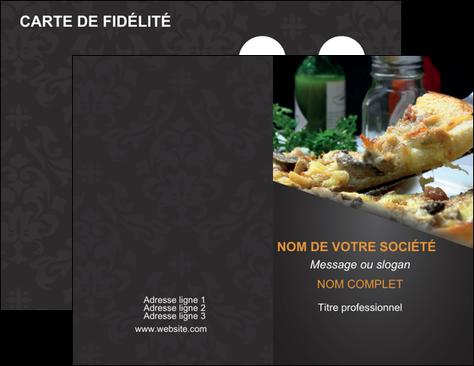 Creer Modele En Ligne Carte De Visite Pizzeria Et Restaurant Italien Pizza MLGI34029