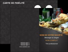creer modele en ligne carte de visite pizzeria et restaurant italien pizza pizzeria restaurant italien MLGI34029