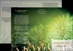 maquette en ligne a personnaliser depliant 3 volets  6 pages  artificier feu dartifice artifice MIS34087