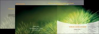 modele en ligne depliant 2 volets  4 pages  artificier feu dartifice artifice MIS34095