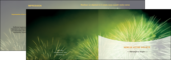 modele depliant 2 volets  4 pages  artificier feu dartifice artifice MIS34097