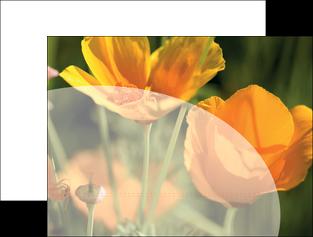 faire modele a imprimer pochette a rabat agriculture fleurs bouquetier horticulteur MLIP34135