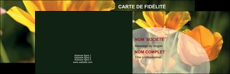 creation graphique en ligne carte de visite agriculture fleurs bouquetier horticulteur MLGI34141