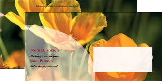 imprimer enveloppe agriculture fleurs bouquetier horticulteur MLGI34143