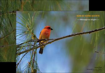 faire affiche paysage nature parc naturel animaux parc naturel des oiseaux MLGI34259