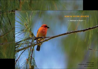faire affiche paysage nature parc naturel animaux parc naturel des oiseaux MLGI34265
