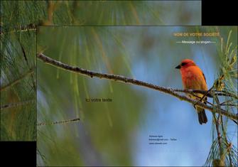creation graphique en ligne pochette a rabat paysage nature parc naturel animaux parc naturel des oiseaux MLGI34275