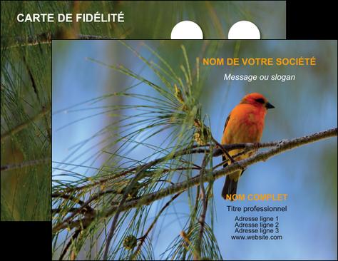 Creation Graphique En Ligne Carte De Visite Paysage Nature Parc Naturel Animaux Des Oiseaux