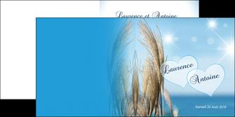 impression depliant 2 volets  4 pages  paysage plante nature ciel MLGI34311